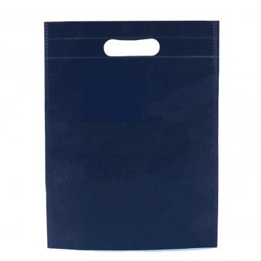 Shopper TNT Colorato manico fustellato Blu