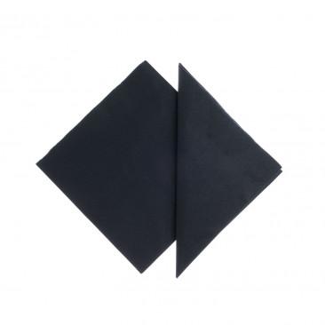 Tovaglioli Tissue Unicolor 25x25 cm Nero