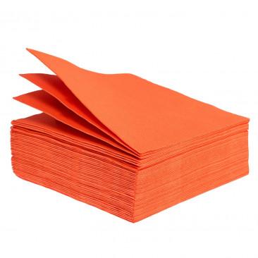 Tovaglioli Tissue Unicolor 38x38 cm Arancio