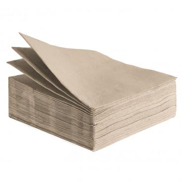 Tovaglioli Tissue Unicolor 38x38 cm Cappuccino