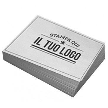 Tovaglietta Carta Personalizzata Bianco 6000 pz