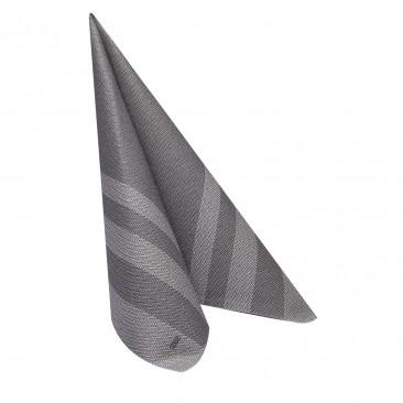 Tovagliolo Monouso Tweed in Airlaid Nero