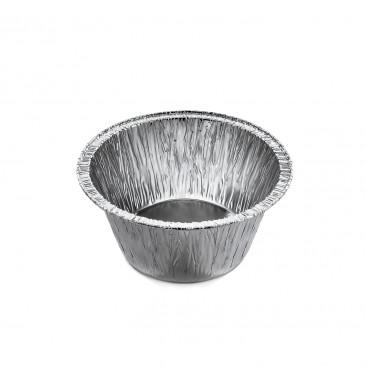 Vaschetta di Alluminio Tonda Budino