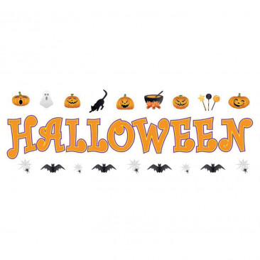 Vetrofania Halloween