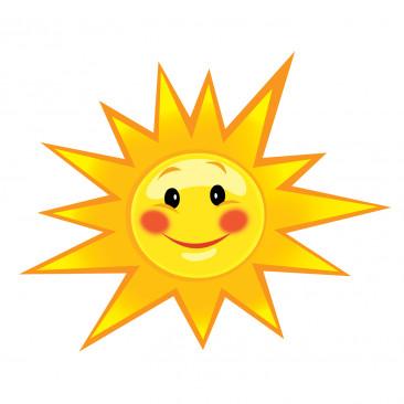 Vetrofania Sole
