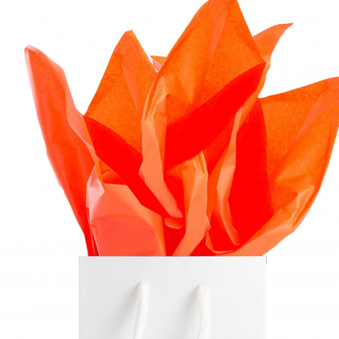 Carta Velina in Offerta Arancio