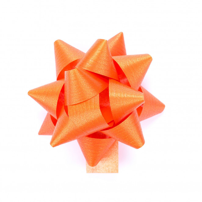 Coccarde Effetto Legno Arancio