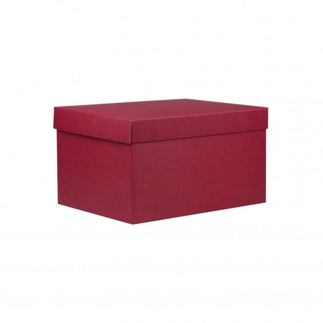 Cubotti - Scatola con coperchio Rosso