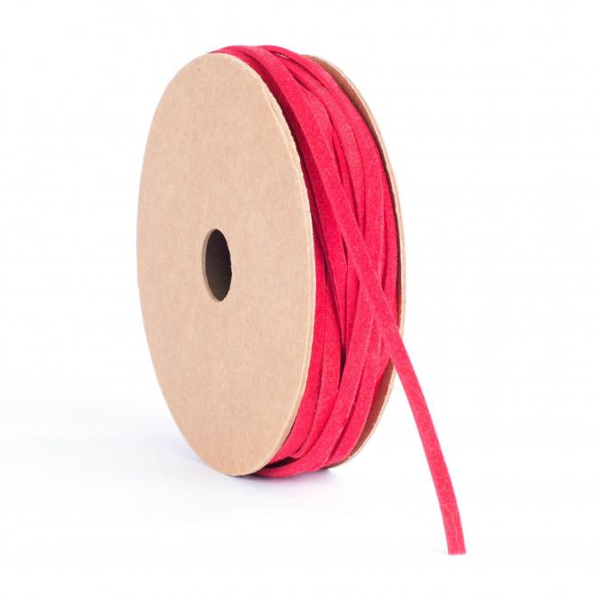 Nastrino Ecopelle Rosso