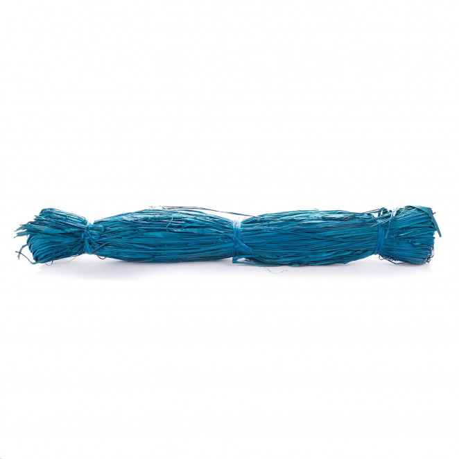 Raphia Naturale Azzurro