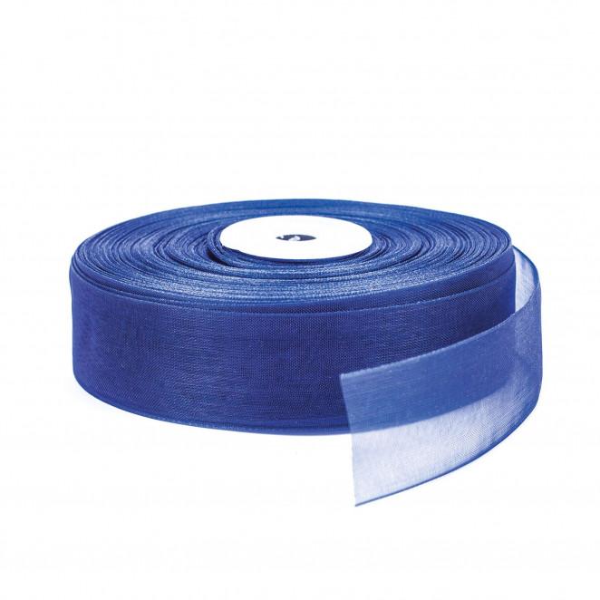 Nastro Organza Blu