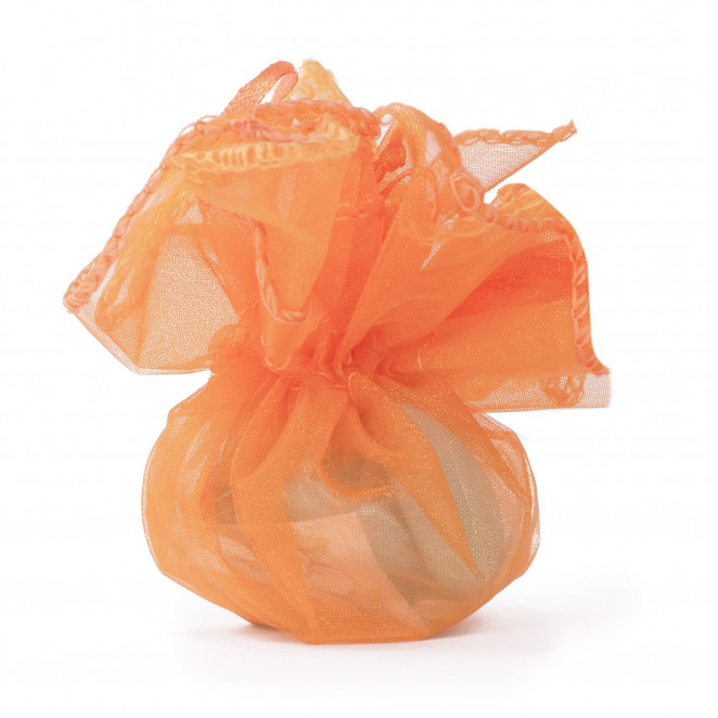 Sacchetti Bon Bon Organza Arancio