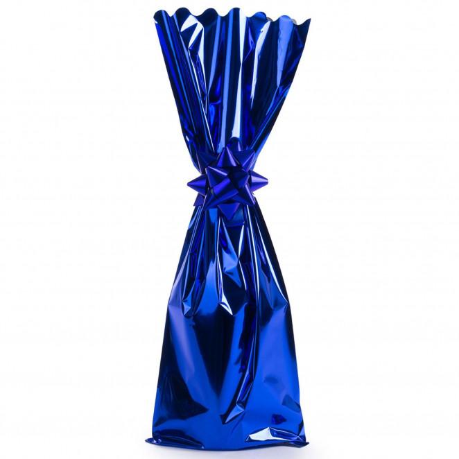 Sacchetto Metal Portabottiglie Blu