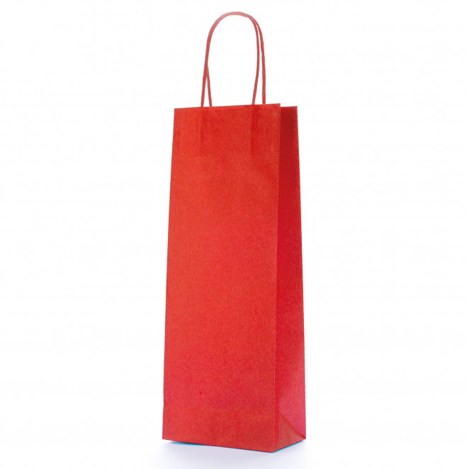 Shopper Biokraft Linea Basic Rosso
