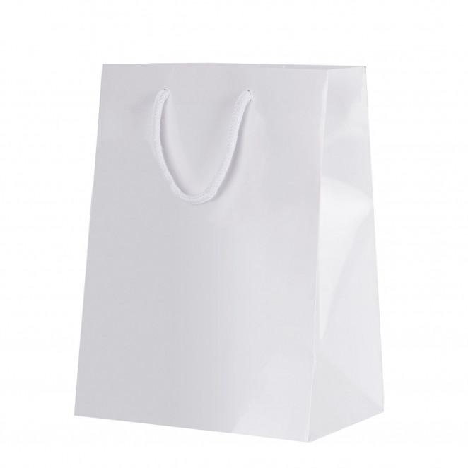 Shopper Carta Lusso Opaca Bianco