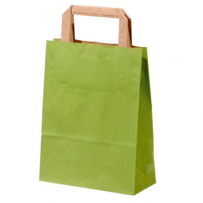 Shopper Carta Sealing Colorata Verde Chiaro