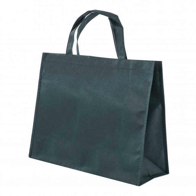 Shopper TNT Colorato Verde Scuro