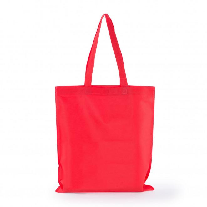Shopper TNT manico lungo Rosso
