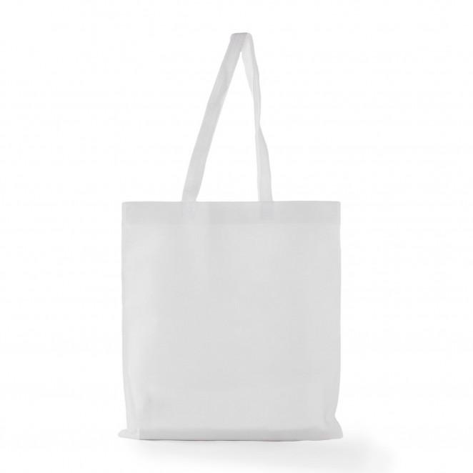 Shopper TNT manico lungo Bianco