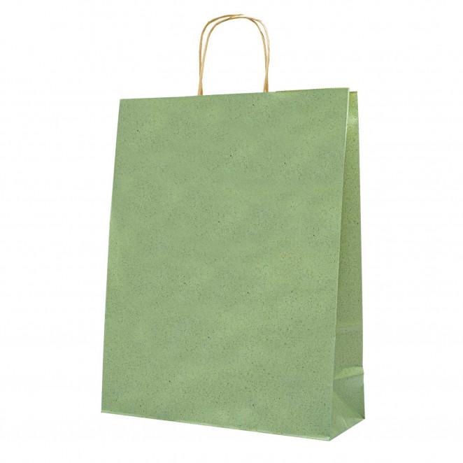 Shopper Carta Erba Verde Chiaro