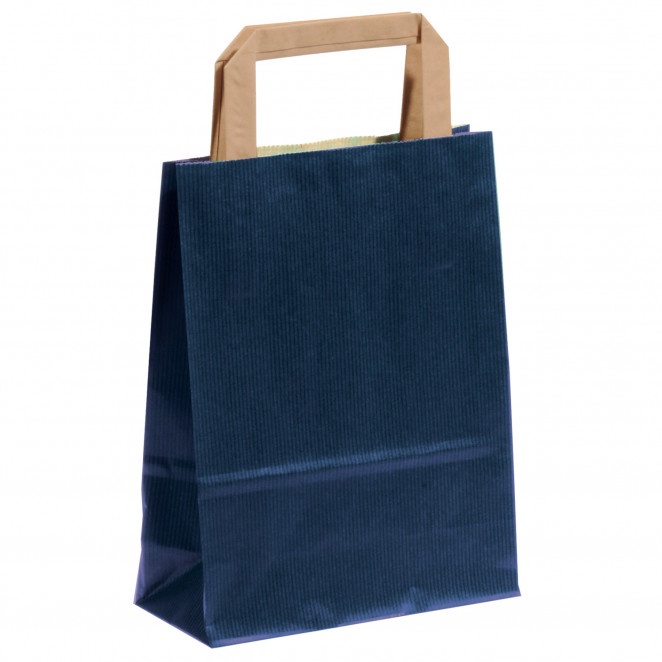 Shopper Carta Sealing Colorata Blu