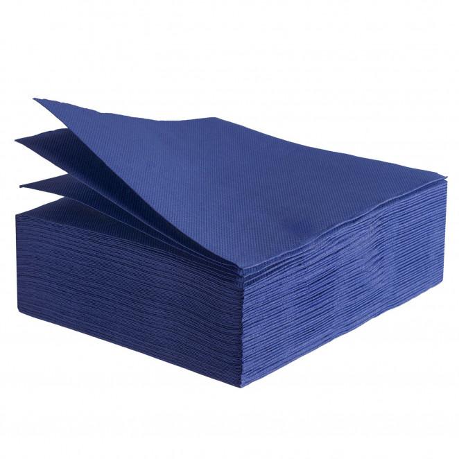 Tovaglioli Tissue Unicolor 38x38 cm Blu