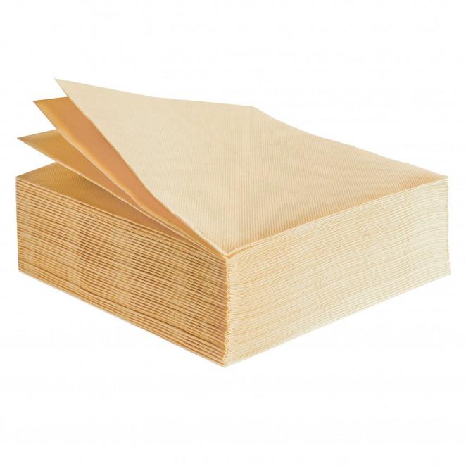 Tovaglioli Tissue Unicolor 38x38 cm Crema