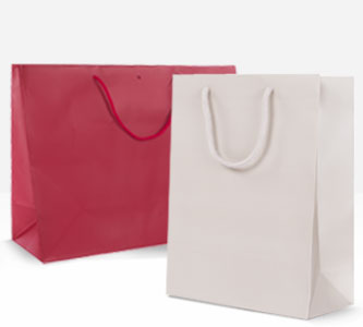 Shopper Plastica Abbigliamento