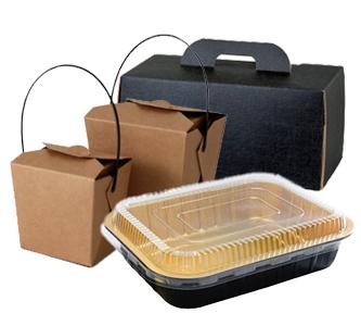 Vaschette e contenitori da asporto