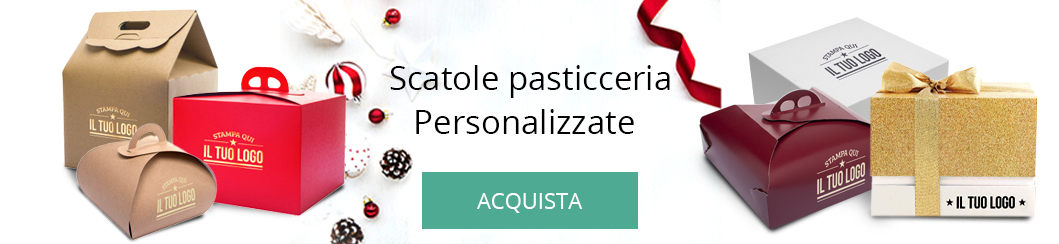 Scatole Pasticceria Natalizie