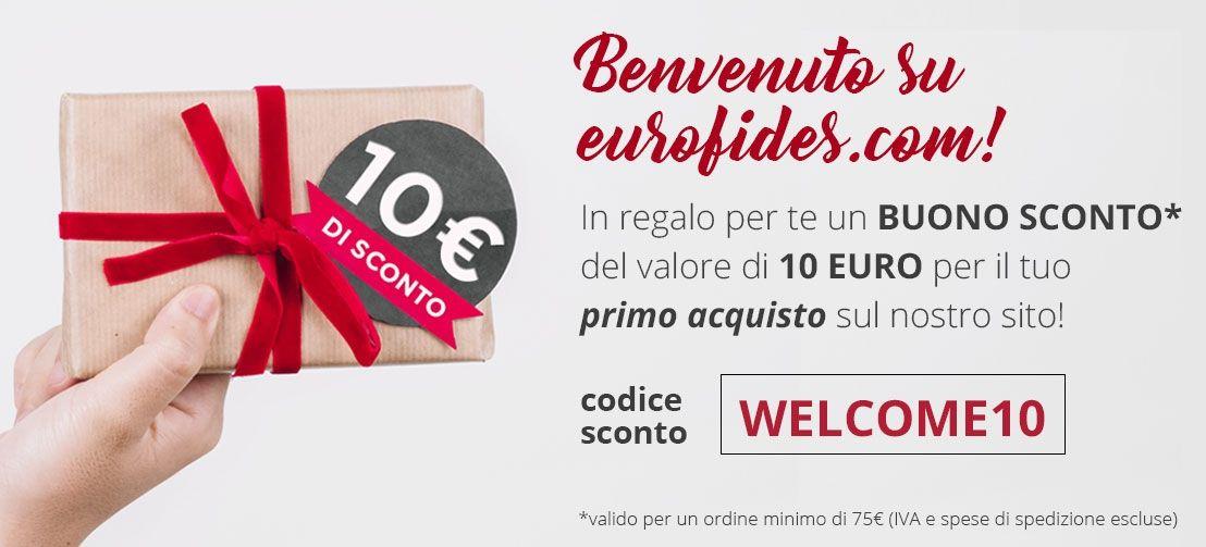 Sconto di Benvenuto Eurofides