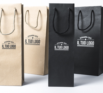 Shopper Portabottiglie Personalizzate