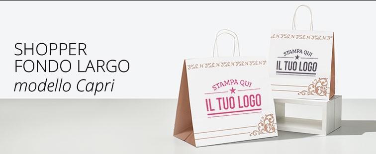 Shopper Take Away Capri Personalizzata