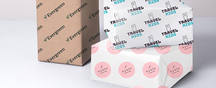 Carta Sealing Avana Personalizzata stampa 2 Colori