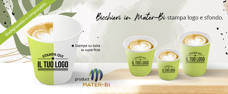 Bicchieri MATERBI Personalizzati Bevande Calde