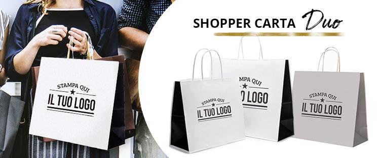 Shopper Carta Duo Personalizzata